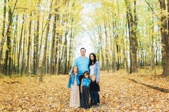 Fall Family Session at Maybury State Park