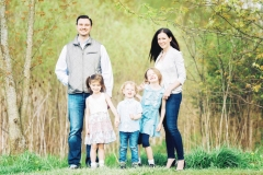 Family Session at LaFurge Woods Nature Preserve
