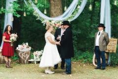 Pamala & Dale Backyard Wedding