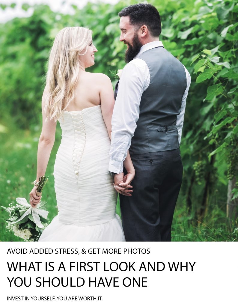 What Is A First Look And Why You Should Have One | Wedding Tips | Weddings | Michigan Weddings | First Looks Weddings | First Look | You Need This | Wedding Help