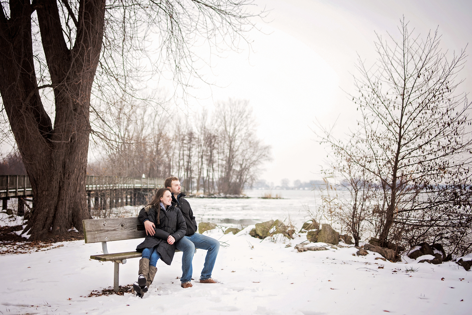 Sterling State Park Michigan Engagement Photography