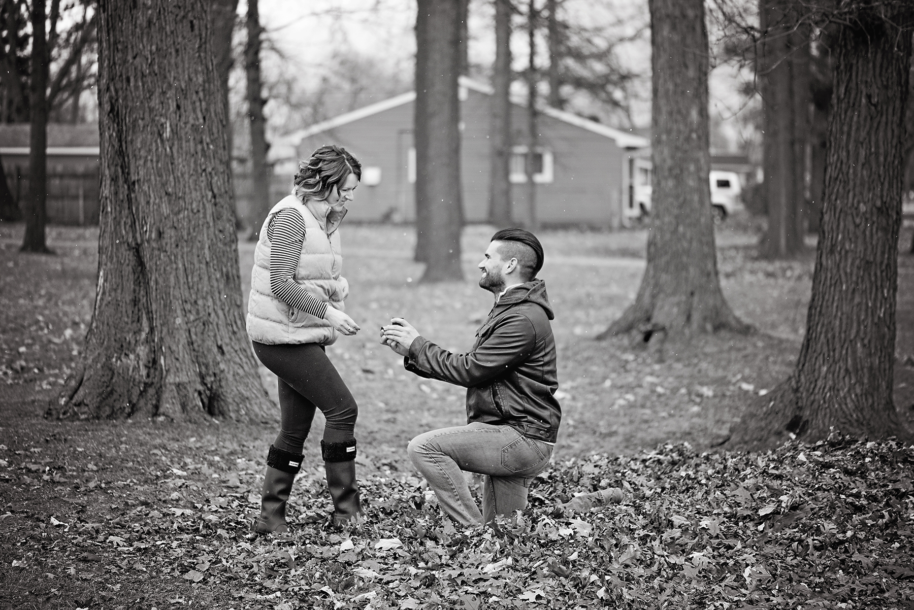 Detroit Michigan Engagement Proposal Session