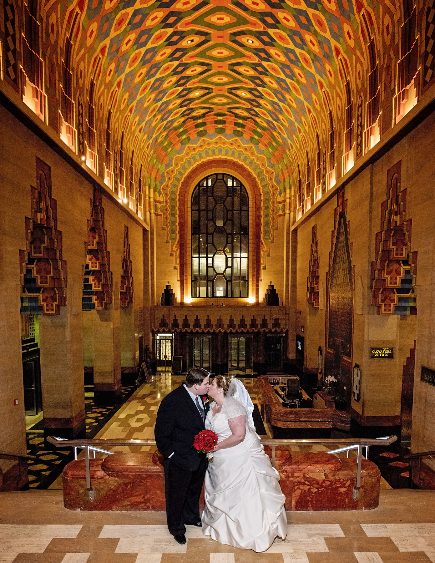 Detroit Guardian Building Wedding
